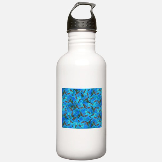 Dragonfly Flit Red Spl Sports Water Bottle