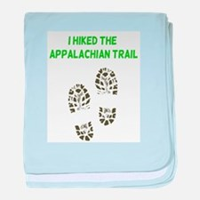 I Hiked the Appalachian Trail baby blanket