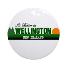 Its Better in Wellington, New Ornament (Round)
