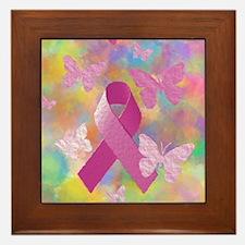 Breast Cancer Awareness Framed Tile