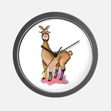 Lady Llams Wall Clock