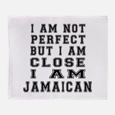 Jamaican Designs Throw Blanket