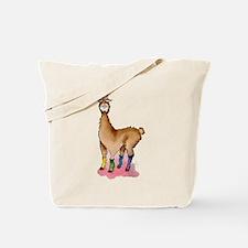 Lady Llams Tote Bag