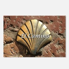 El Camino gold shell, Leo Postcards (Package of 8)