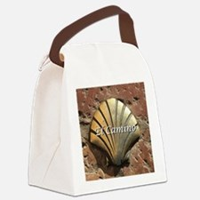 El Camino gold shell, Leon,Spain  Canvas Lunch Bag