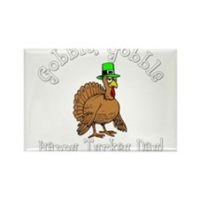 Cute Happy thanksgiving Rectangle Magnet