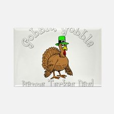 Cute Gobble Rectangle Magnet
