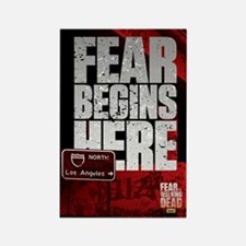 Ftwd Fear Begins Here Magnet Magnets