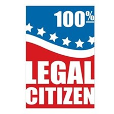 100% Legal Citizen Postcards (Package of 8)