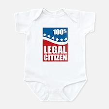 100% Legal Citizen Infant Bodysuit