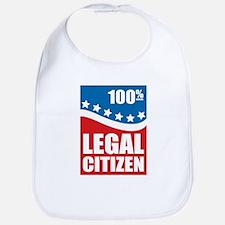 100% Legal Citizen Bib