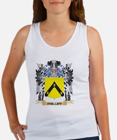 Phillipp Coat of Arms - Family Cr Tank Top