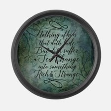 The Tempest Sea Change Large Wall Clock
