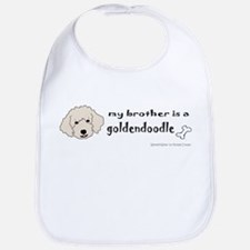 Unique Australian goldendoodle Bib