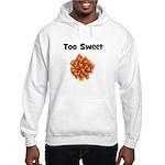 Too Sweet (candy corn) Hooded Sweatshirt