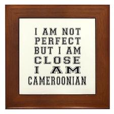 Cameroonian Designs Framed Tile