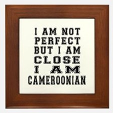 Cameroonian Designs Framed Tile