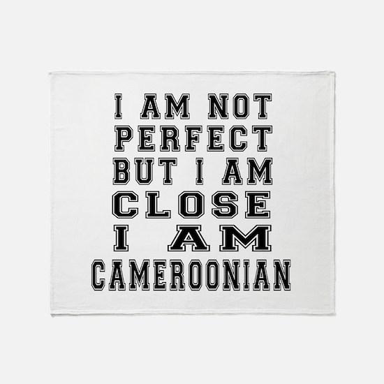 Cameroonian Designs Throw Blanket