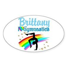 GRACEFUL GYMNAST Decal