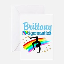 GRACEFUL GYMNAST Greeting Card