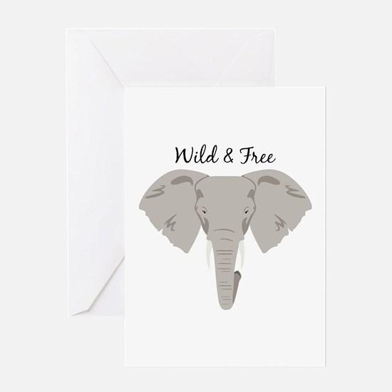 Wild & Free Greeting Cards
