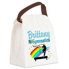 GRACEFUL GYMNAST Canvas Lunch Bag