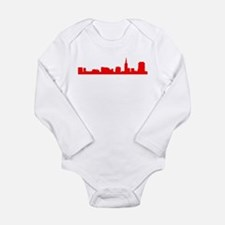 Cute The view Long Sleeve Infant Bodysuit