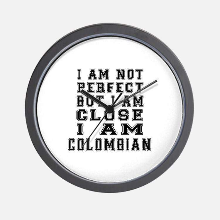 Colombian Designs Wall Clock