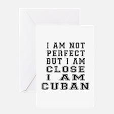 Cuban Designs Greeting Card