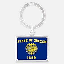 Oregon State Flag Keychains