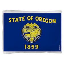 Oregon State Flag Pillow Sham