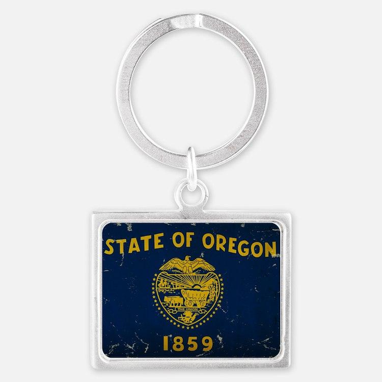 Oregon State Flag VINTAGE Keychains