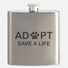 Funny Adopt Flask