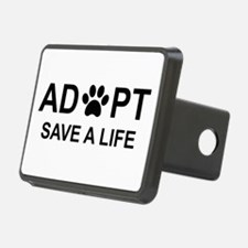 Funny Adopt a pet Hitch Cover