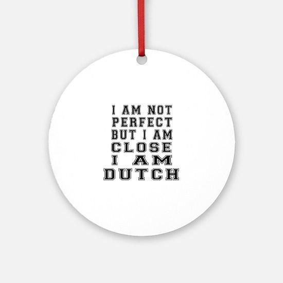 Dutch Designs Round Ornament