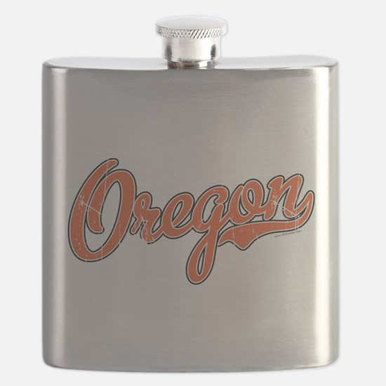 Oregon Script Font Orange Flask