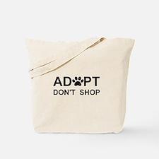 Funny Adopt Tote Bag
