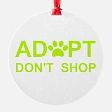 Cute Adopt a pet Ornament