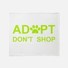 Unique Adopt Throw Blanket
