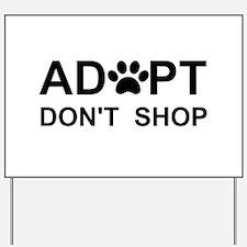 Cute Pet Yard Sign