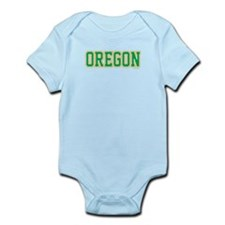 Oregon Jersey Green Infant Bodysuit