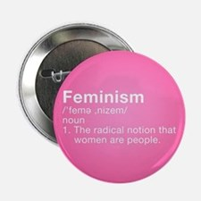 "Feminism Definition 2.25"" Button (10 pack)"