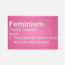 Feminism Definition Rectangle Magnet