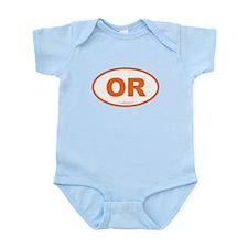 Oregon OR Euro Oval Infant Bodysuit