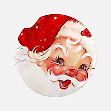 Cute Santa claus Button