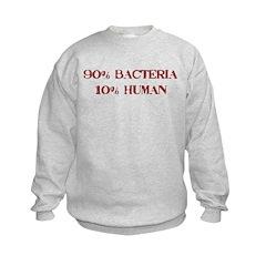 90% Bacteria Sweatshirt