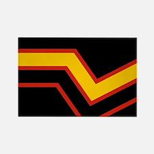 Rubber Pride Flag Rectangle Magnet