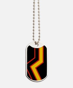 Rubber Pride Flag Dog Tags