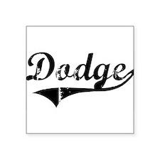"Cute Dodge Square Sticker 3"" x 3"""
