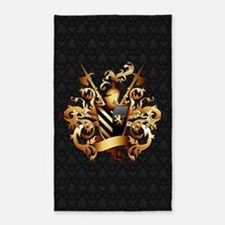 Medieval Coat Of Arms Area Rug